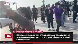 BUTTERS SOBRE INVASIÓN EN LO CORVINA: El gobierno tiene hectáreas que podría darle a la gente