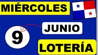 Resultados Sorteo Loteria Miercoles 9 de Junio 2021 Loteria Nacional de Panama Miercolito Que Jugo