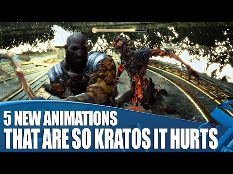 God Of War - 5 New Animations That Are So Kratos It Hurts
