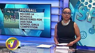 TVJ Sports News: Record Number of Schools in Girls' Football Competition - February 13 2020