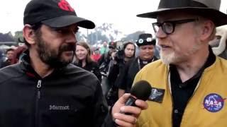 Adam Savage Walks and Talks at Maker Faire