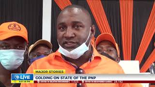 Golding Says PNP Remains Relevant, Viable   News   CVMTV