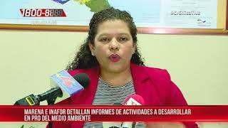 MARENA e INAFOR con más proyectos en pro del medio ambiente en Nicaragua