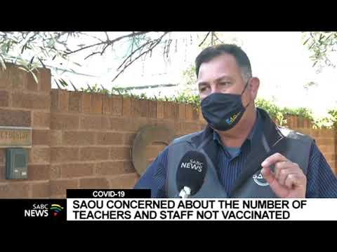 Teachers' union SAOU  raises concerns about unvaccinated teachers