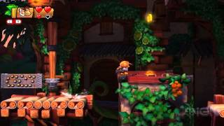 Donkey Kong Country Tropical Freeze -- Can We Survive the Fruity Factory?