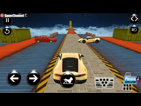 Real Impossible Tracks Stunts 3D Car Racing Game / Android Gameplay Video