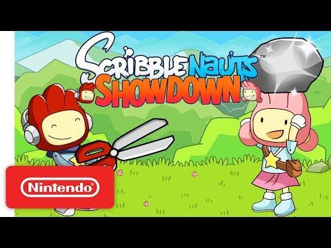 connectYoutube - Official Scribblenauts Showdown Announcement Trailer - Nintendo Switch