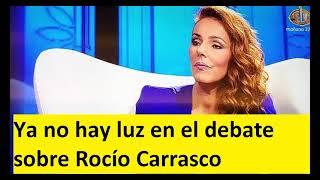 Ya no hay luz en el debate sobre Rocío Carrasco