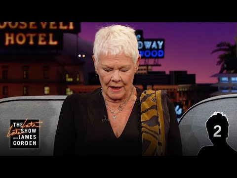 Dame Judi Dench Masters The Dame Judi Dench Challenge