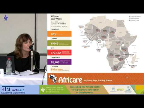 Gwen Young, Africare Senegal