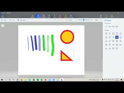 การใช้งานโปรแกรม-Paint-3D-ep.1