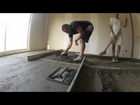 Related video r5u0974rvz8 comment r aliser une dalle en - Chape exterieur pour carrelage ...