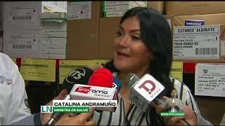 No hay casos de Coronavirus en Ecuador según ministra de Salud