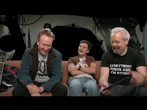 connectYoutube - Conan On #ConanItaly & Jordan Schlansky's Origin Story