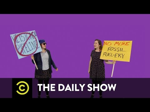 Please, Just Like… Don't: How to Protest: The Daily Show