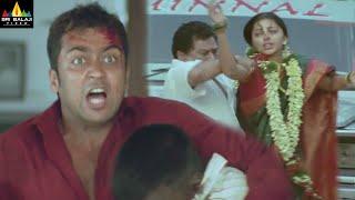 Nuvu Nenu Prema Movie Attack on Suriya backslashu0026 Bhumika | Telugu Movie Scenes | Sri Balaji Video - SRIBALAJIMOVIES