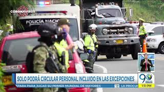 Mayo 22 2020 - Autoridades hacen controles en las vías durante puente festivo