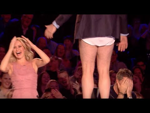 Judge Goes Crazy and Takes His Pants Off! | Audition 7 | Britain's Got Talent 2017