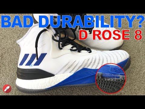 Adidas D Rose 8 Having Durability Issues?!