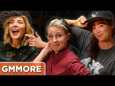 Q&A with Grace Helbig, Hannah Hart and Mamrie Hart
