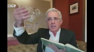 """""""En el Centro Democrático hablamos duro pero no robamos"""": Uribe en acalorado debate"""