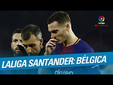 LaLiga Santander en el Mundial: Bélgica