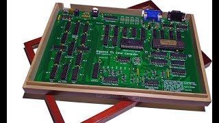 EEVblog #1080 - Gigatron TTL RISC Kit Computer Review