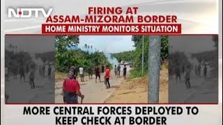 Assam-Mizoram Border Situation backslash