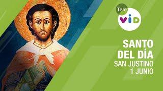 1 de junio día de San Justino, Santo del Día - Tele VID