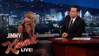Taylor Swift Gets Revenge on Kimmel Music Booker