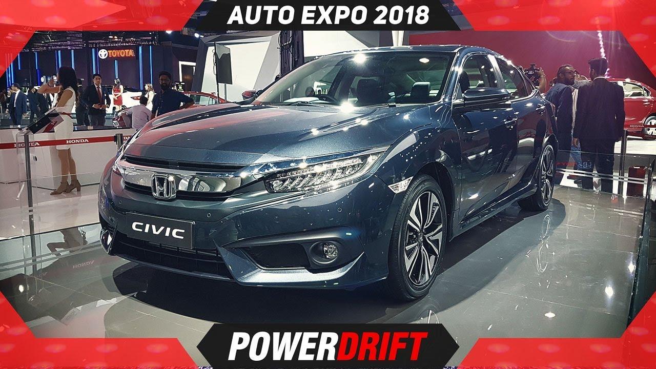 2018 Honda Civic @ Auto Expo : A Legend Is Back : PowerDrift