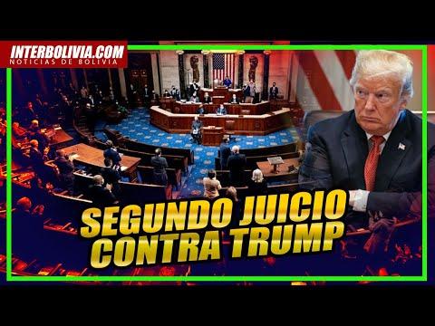 DIRECTO: El impeachment para destituir a Donald Trump después de la invasión al Capitolio