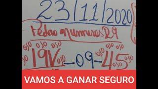 NUMEROS PARA HOY 23 DE NOVIEMBRE PARA TODAS LAS LOTERIAS
