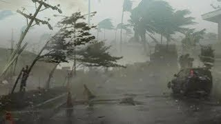Strong wind, Flood as Tropical Storm