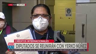 Diputados se reunirán con el ministro Núñez para abordar el tema de los créditos internacionales