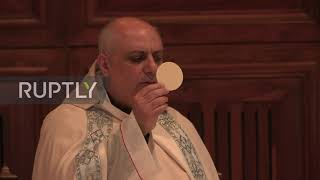 Lebanon: Beirut Cathedral holds first mass after social distancing rules relaxed