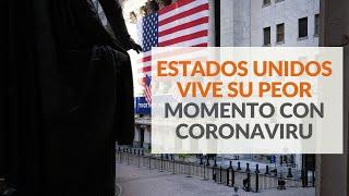 Estados Unidos vive su peor momento con coronavirus: Nuevos casos aumentaron en 40 estados