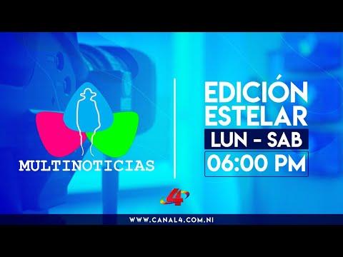 (EN VIVO) Noticias de Nicaragua - Multinoticias Estelar, 10 de junio de 2021