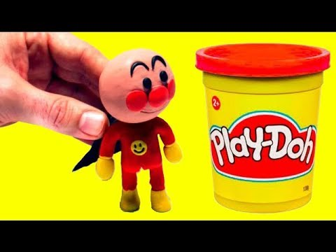 connectYoutube - Stop motion Anpanman play doh アンパンマンストップモーション funny video for kids