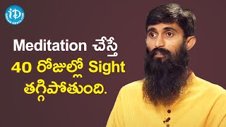 Eye Sight Problems Can be Cured with Mediation - Acharya Srinivas | Dil Se with Anjali - IDREAMMOVIES