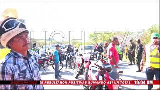 Bloqueado acceso a Santa Rosa de Copán en cumplimiento a ordenanza municipal