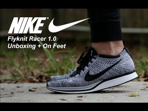 5374a124d71d Download youtube to mp3  Nike Flyknit Racer 1.0  Cookies   Cream  Unboxing  + ...