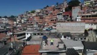 Rooftop workouts a hit in virus-stricken Brazil