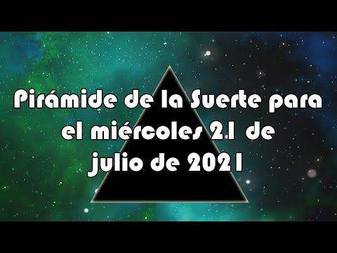 Lotería de Panamá - Pirámide para el miércoles 21 de julio de 2021