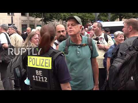 Germany: COVID sceptics protest marked by multiple arrests, violent clashes