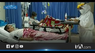 En Guayaquil el úmero de pacientes con síntomas de Covid iría en descenso en hospitales
