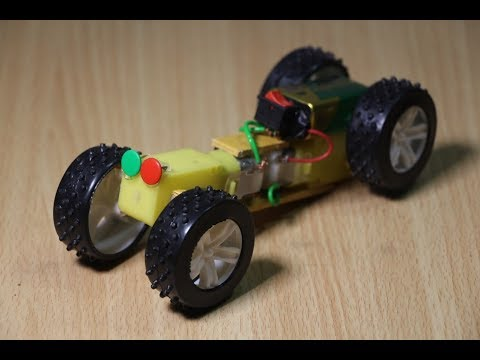 How To Make Powerful Car Toy at home -  Amazing Kids toy ever
