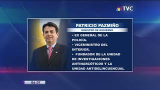 Patricio Pazmiño fue designado como Ministro de Gobierno