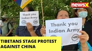 Tibetans protests against China in US, show solidarity to India |NewsX - NEWSXLIVE