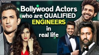 From Sushant to Vicky | Here are a bunch of B-Town celebrities who are indeed qualified Engineers | - TELLYCHAKKAR
